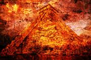 Kukulcan Pyramid Print by Juan Jose Espinoza