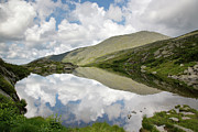 Hiking Prints -  Lakes of the Clouds - Mount Washington NH Print by Erin Paul Donovan
