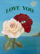 Greetings Card -  Love  You by Eric Kempson