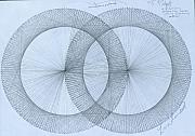 Field Drawings -  Magnetism by Jason Padgett