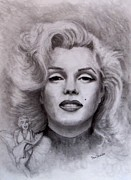 Starlett Drawings -  Marilyn by Jack Skinner