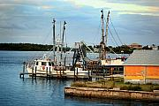 Shrimp Boat Photos -  Matlacha Florida by Joseph G Holland