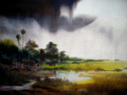 Monsoon Originals -  Monsoon Village  by Samiran Sarkar