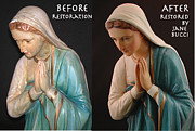 Jane Bucci Art -  Mother Mary Restored by Jane Bucci