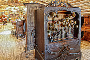 Wurlitzer Photos -  Music Hall - Nevada City Montana Ghost Town by Daniel Hagerman