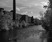 Blackstone River Prints -  Old Mill Print by Barry Doherty
