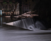 Blackstone River Prints -  On the Edge Print by Barry Doherty