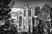 Val Black Russian Tourchin -  Park Slope Church in BandW