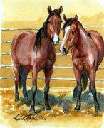 Mustang Make Over Prints -  Pick Up Day Print by Linda L Martin