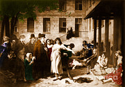 Pitie-salpetriere Hospital, 1795 Print by Photo Researchers