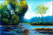 Plain Air Paintings -  Plein Air Landscape OIL Painting by Andrew Semberecki