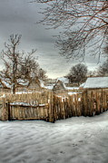Massachusetts Art -  Plimoth 1629 by Jack Costello