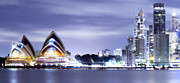Sydney Harbour Prints -  Power Balance Print by Mark Lucey