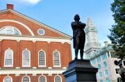 Quincy Market Photos -  Quincy Market and Sam Adams by Andrew Dinh