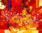 Dale Witherow Art -  Red Autumn by Dale  Witherow