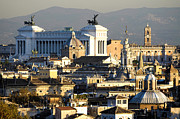 Rome's Rooftops Print by Fabrizio Troiani