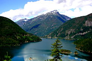 Searcy Prints -  Ross Lake In The North Cascades Print by Tanya  Searcy