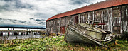 Salmon Cannery Print by DMSprouse Art