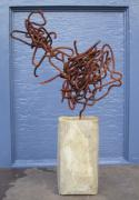 Found Art Sculpture Metal Prints -  Significant Other Metal Print by Richard Heffron