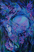 Lilac Drawings Originals -  Song of Lilac by Anna  Duyunova