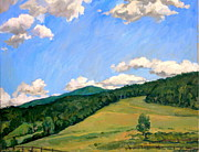 Thor Prints -  Summer Shapes Berkshires Print by Thor Wickstrom