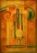Song Mixed Media Originals -  Summer Symphony by Dan Earle