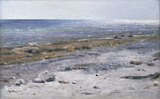 Calm Paintings -  The Beach Mols by Janus la Cour