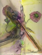 Growth Pastels -  The Grandmothers by Anne-D Mejaki - Art About You productions