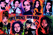 Free Speech Paintings -   The LADIES FIRST by Tony B Conscious