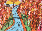Fast Paintings -  The Swinging Bridge by Jeffrey Koss