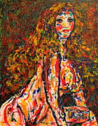 Expressionsim Paintings -  The Wild Woman by Natalie Holland