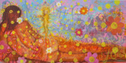 Worship God Paintings -  Theology of the Body by Anne Cameron Cutri