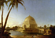 Dome Paintings -  Tomb of Sher Shah by D Robert