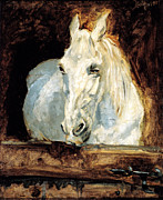 Moonlight Paintings -  Toulouse-Lautrec - Der Schimmel or Gazelle by Pg Reproductions