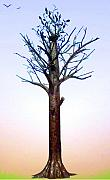 Iron  Sculptures -  tree Albania in the years   by Petrit Metohu