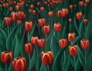 Mother Drawings -  Tulip Festival by Anastasiya Malakhova