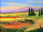 Ron Sammann -  Tuscan Countryside