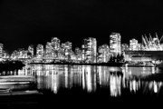 Tasteful Art Prints -  Vancouvers silver lining  Print by Dean Edwards
