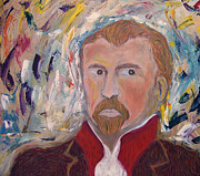 Mixed-media Pastels -  Vincent Van Gogh  by Azul Fam