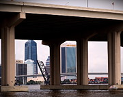 Welcome To Jacksonville Print by Richard Burr