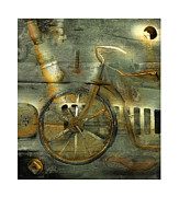 Bob Salo Prints -  Wheels Keep On Turning Print by Bob Salo
