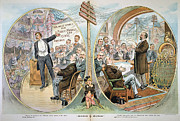 Standard Paintings - Business Cartoon, 1904 by Granger