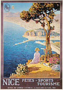 Early Painting Prints - NICE, FRANCE, c1920 Print by Granger