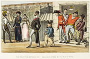1814 Posters - Paris Occupation, 1814 Poster by Granger