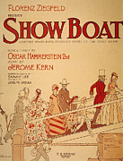 1927 Framed Prints - Show Boat Poster, 1927 Framed Print by Granger