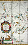 Portolan Chart Painting Posters - East Indies Map, 1670 Poster by Granger