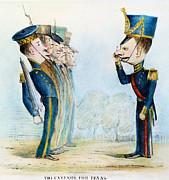 Cartoon: Mexican War, 1846 Print by Granger