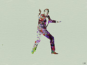 Actor Prints - 007 Watercolor Print by Irina  March