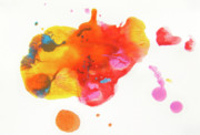 Splat Paintings - 01010010 by Jennifer Wilson