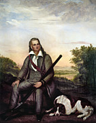 Hunt Metal Prints - John James Audubon Metal Print by Granger